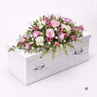 Childrens Casket Spray   Pink *