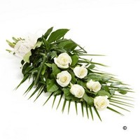 Simple Rose Sheaf   White *