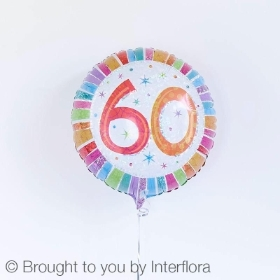 60th Birthday Balloon