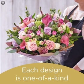 Mothers Day hand tied made with the finest flowers
